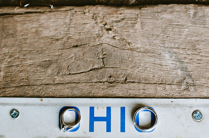 ohio license plate wedding rings springfield ohio wedding