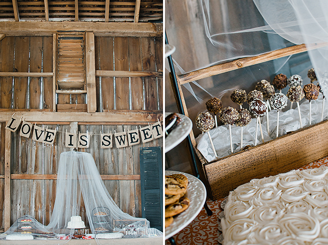 dayton, ohio rustic vintage diy desert table photographer