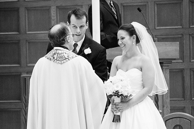 catholic church wedding photographer in dayton ohio