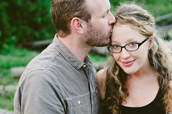 dayton ohio casual engagement pictures