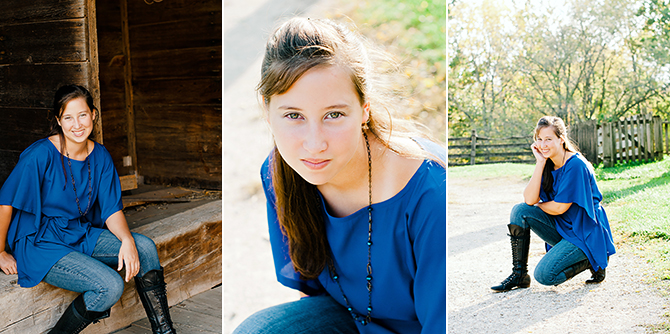 outdoor senior portrait photography in dayton ohio