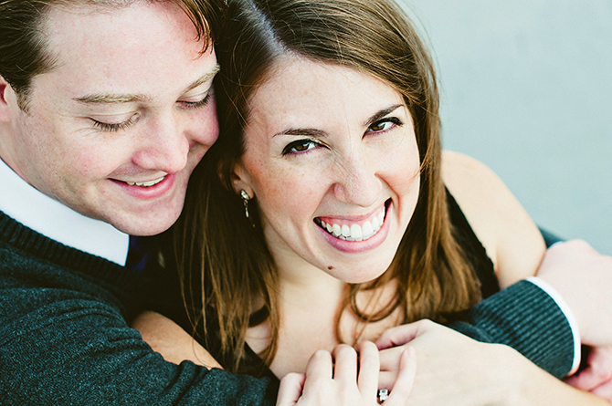 fun relaxed cincinnati engagement photography