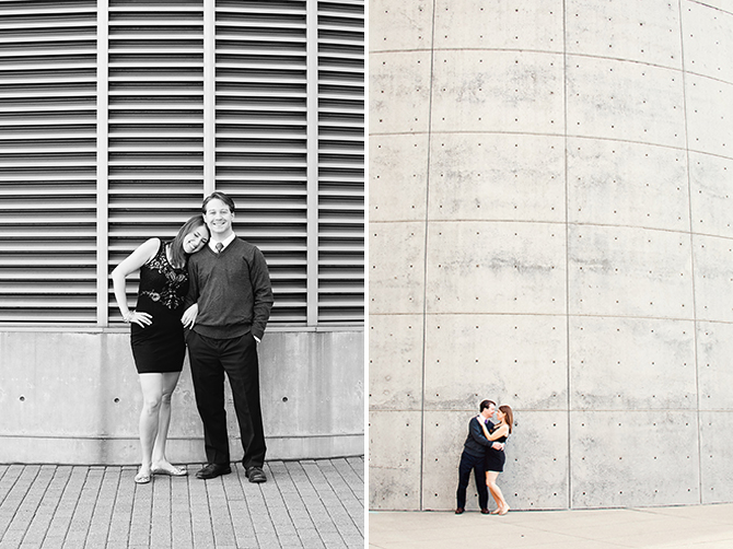 urban cincinnati engagement photography