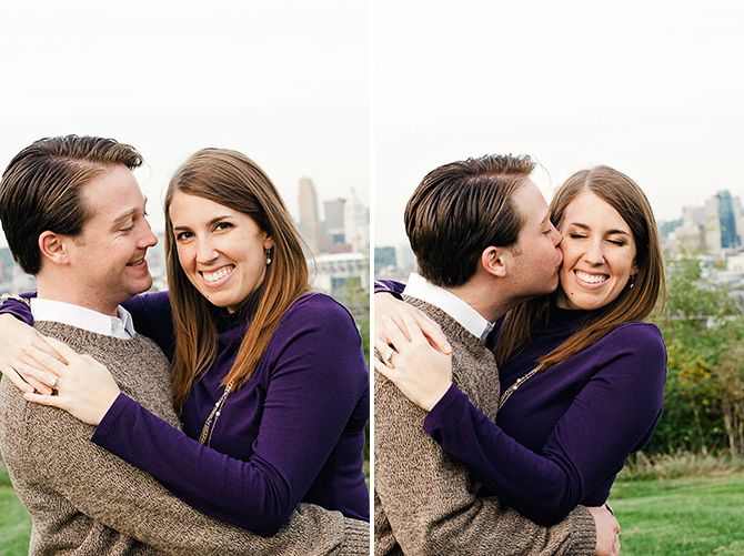 cincinnati engagement portrait devou park