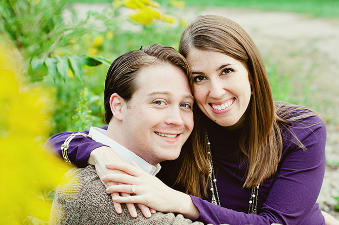 fun relaxed dayton cincinnati engagement photography