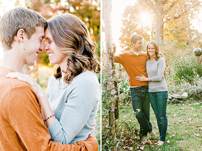 happy engagement picture photography in dayton ohio