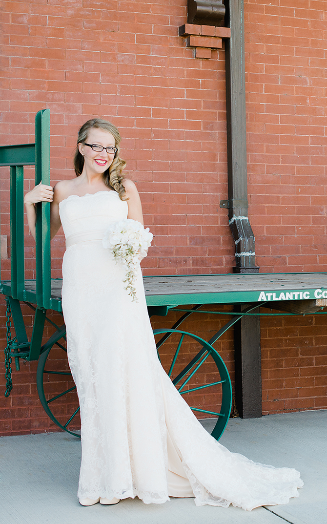rocky mount north carolina bridal portrait
