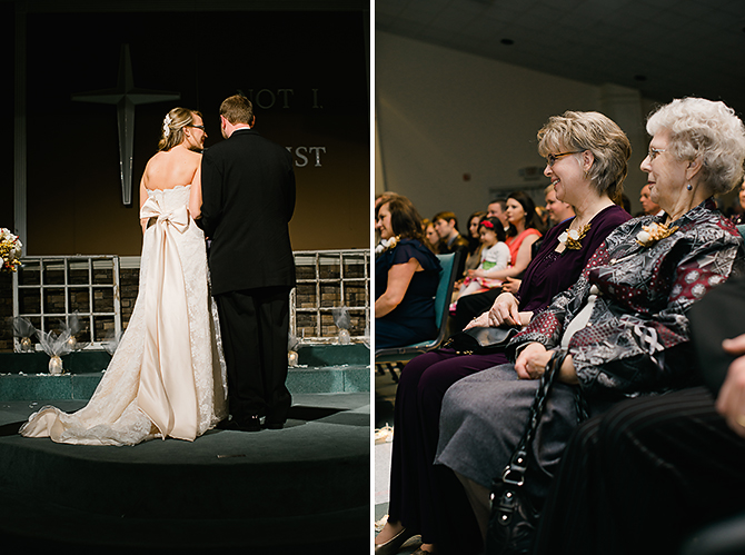 wedding ceremony photography in north carolina