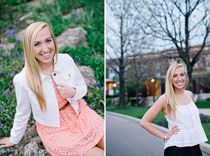 senior portraits at the university of dayton