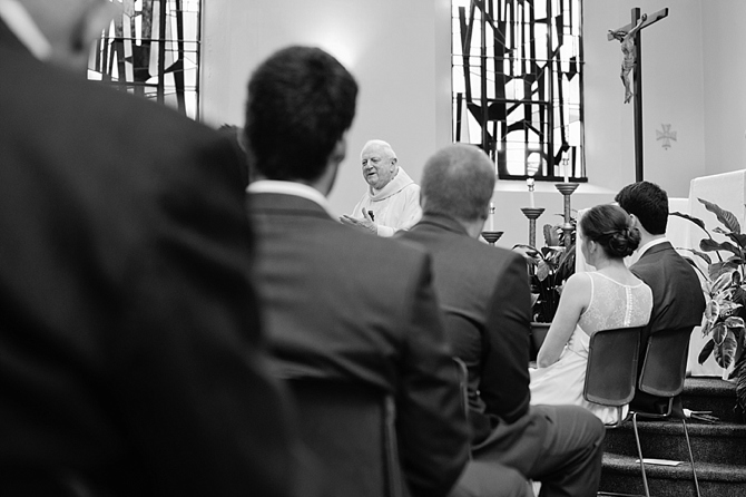 university of dayton catholic wedding mass photography