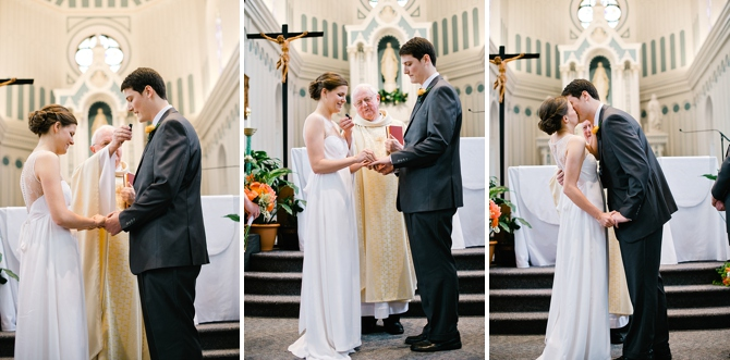 university of dayton chapel wedding ceremony