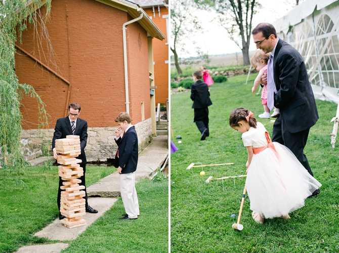 wedding lawn games at willow tree