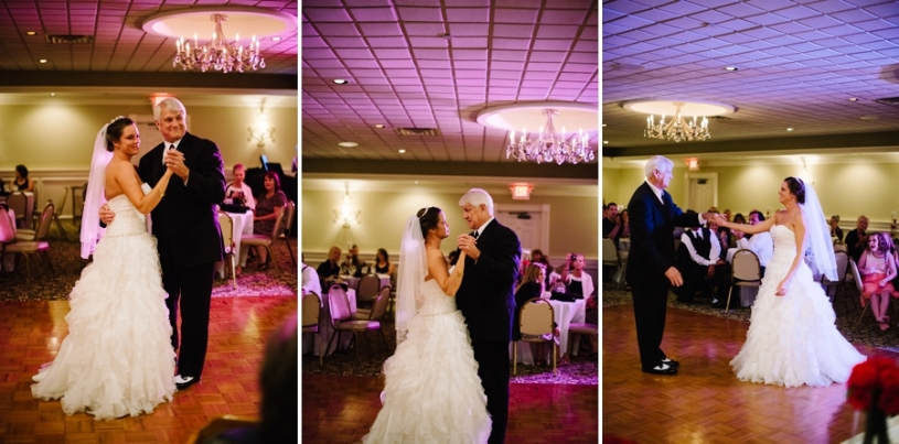 father daughter dance at presidential banquet center in dayton ohio