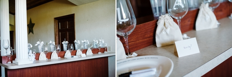 diy custom wine glasses for bridesmaids