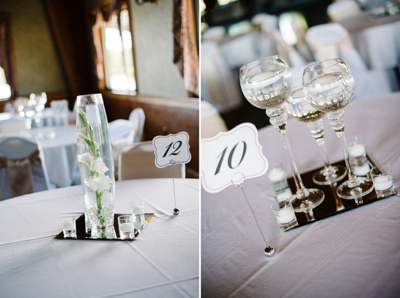 lake lyndsay wedding centerpieces