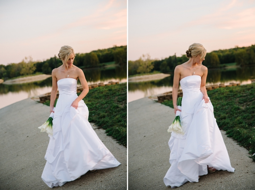 bride at lake lyndsay