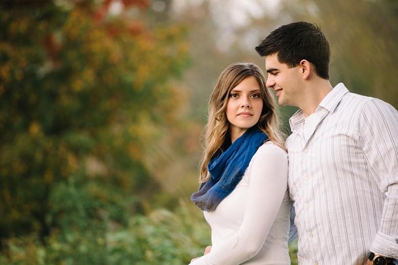 fall engagement pictures in dayton ohio
