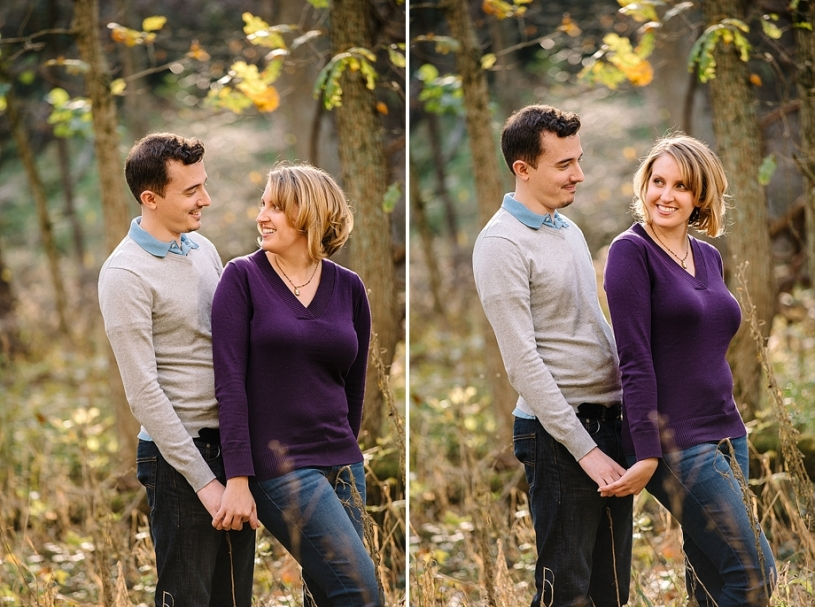 engagement photos at john byran park