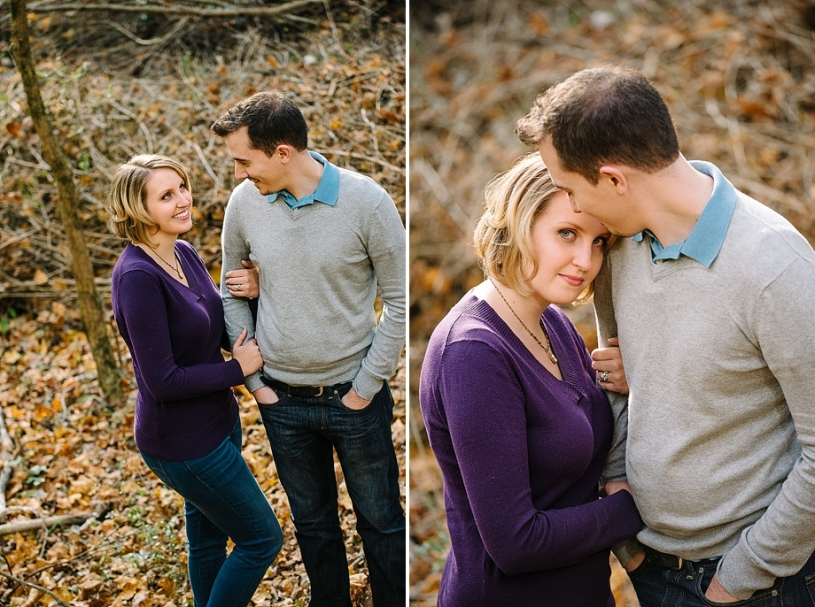yellow springs ohio engagement photos