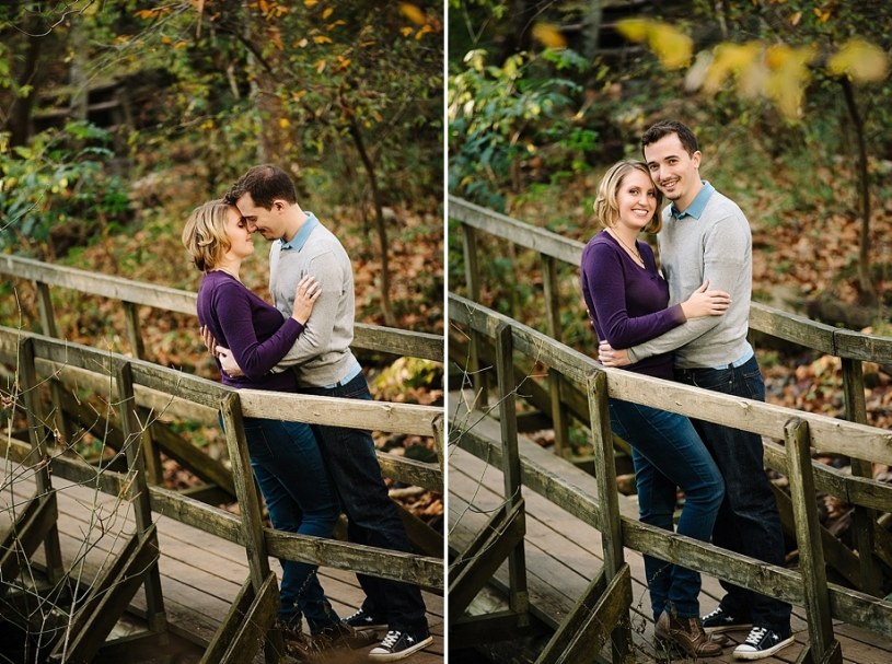engagement photos at john bryan