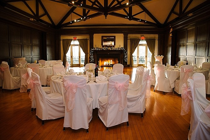 wedding reception at dayton country club