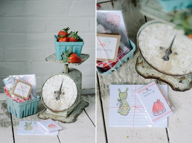 vintage styled recipe cards by biblisophy paper
