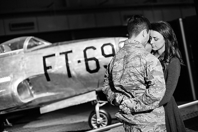 museum of united states air force engagement photos