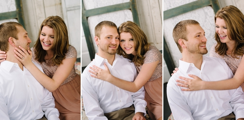 vintage engagement pictures in dayton ohio