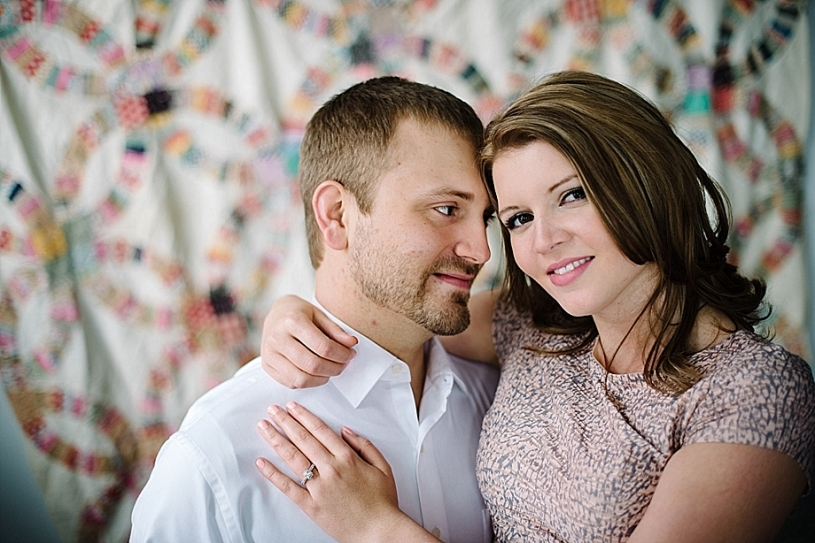 downtown dayton engagement and wedding pictures