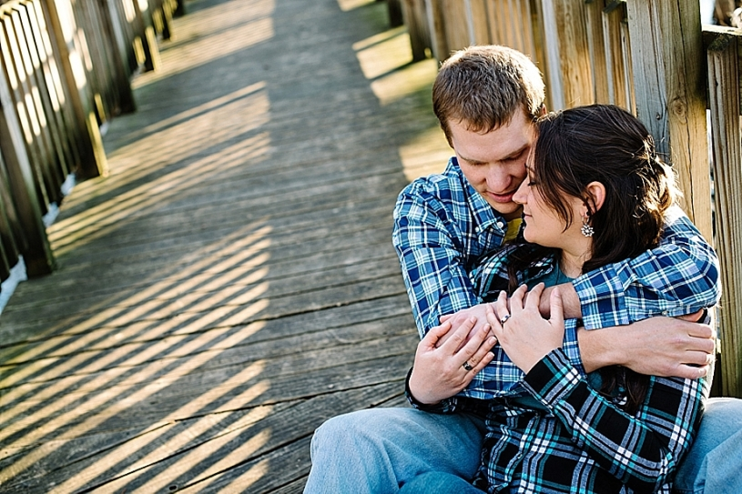 park engagement pictures