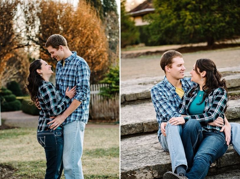 casual engagement pictures in dayton ohio