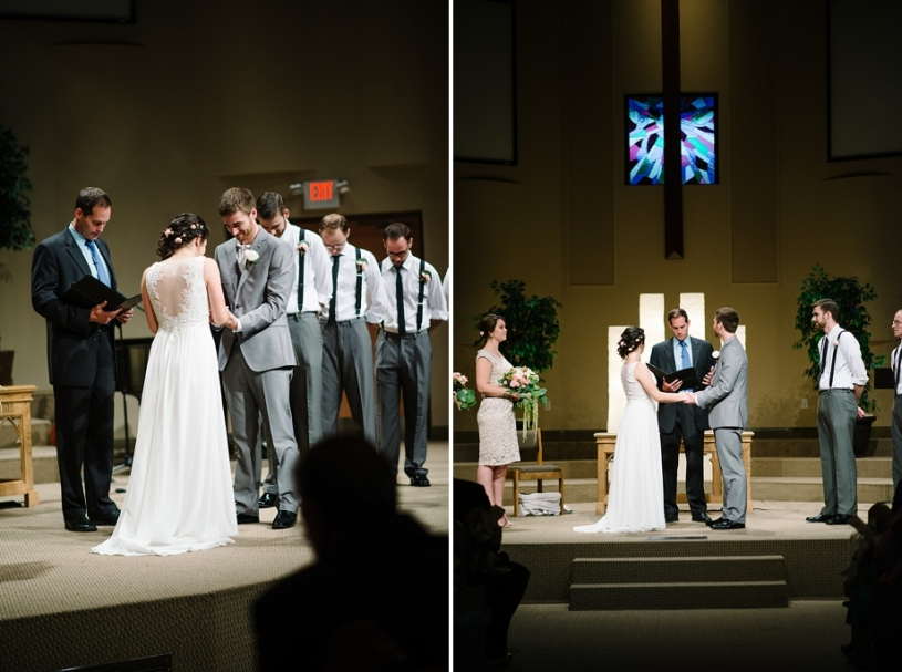 wedding at centerville community church